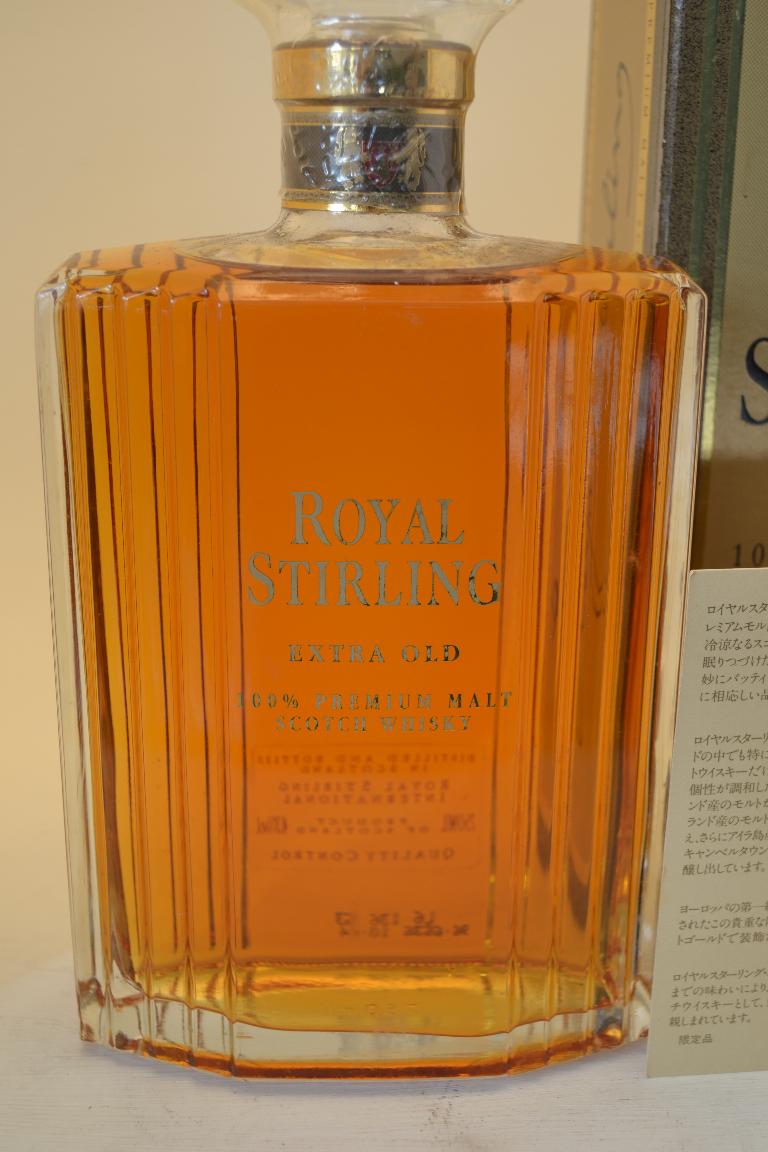 ROYAL STIRLING Premium malt whisky / Extra old / Decanter